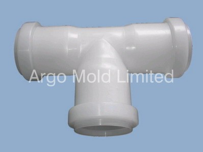 Plastic Injection Molding Pipe Fitting A
