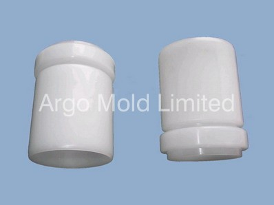 Plastic Injection Molding Pipe Fitting C