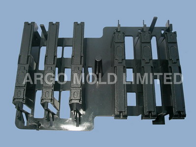 Plastic Injection Molding 31 Circuit Wafer Part C