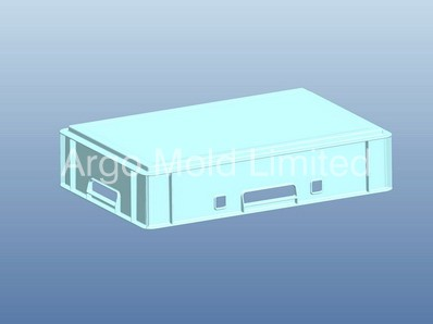 Plastic Injection Molding Cargo Container