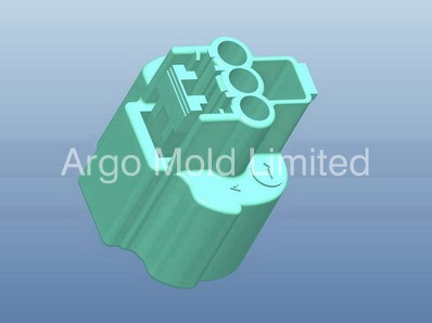 Plastic Injection Molding Precise Connector A