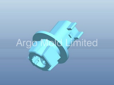 Plastic Injection Molding Precise Connector B